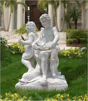 石雕雕像,汉白玉雕像,儿童雕像,小孩雕像,大理石雕像,欧式雕塑雕像