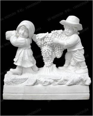 欧式雕像,石雕雕像,汉白玉雕像,儿童雕像 ,小孩雕像,大理石雕像,欧式